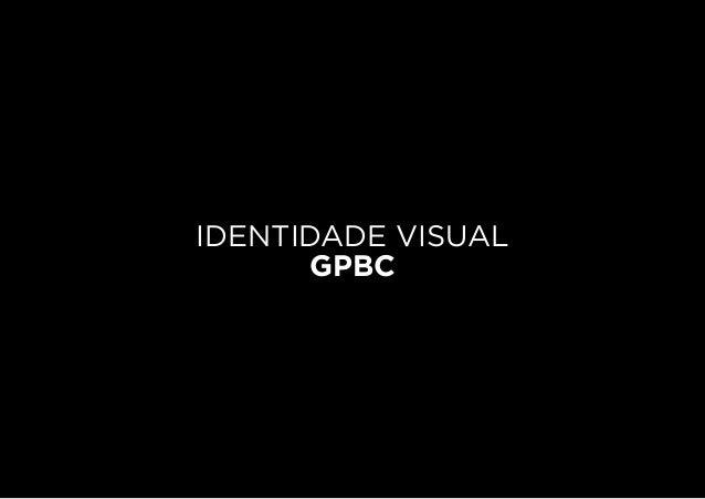 IDENTIDADE VISUAL GPBC