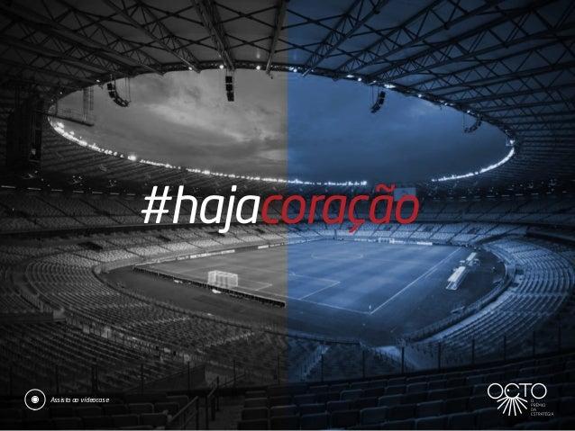 #hajacoração Assista ao vídeocase