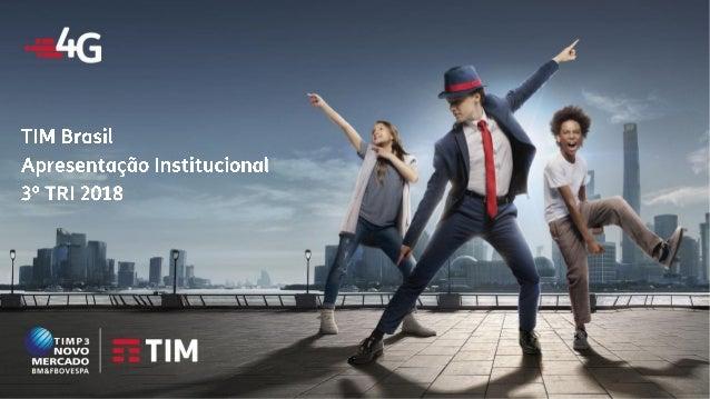 TIM Participações – Relação com Investidores Apresentação Institucional