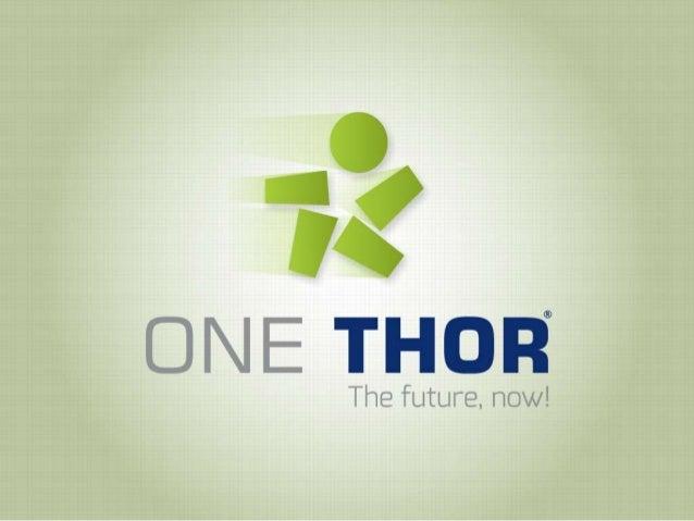 OneThor - Nuova Presentazione - Italiano