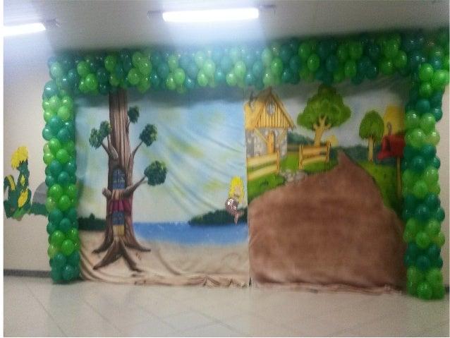 Apresentação de Folclore das turmas de Educação Infantil Matutino