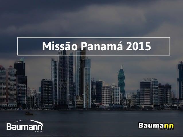 Missão Panamá 2015
