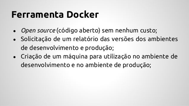 Ferramenta Docker