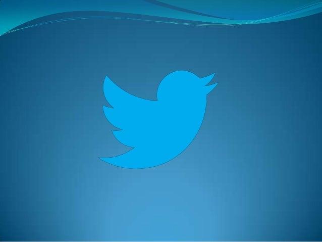 O QUE É O TWITTER? O twitter é uma rede de microblogs onde os usuários seguem e interagem com os que são relevantes para o...