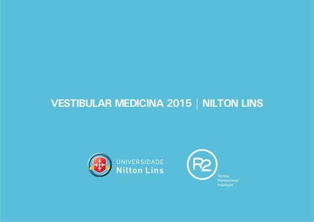 VESTIBULAR MEDICINA 2015 | NILTON LINS