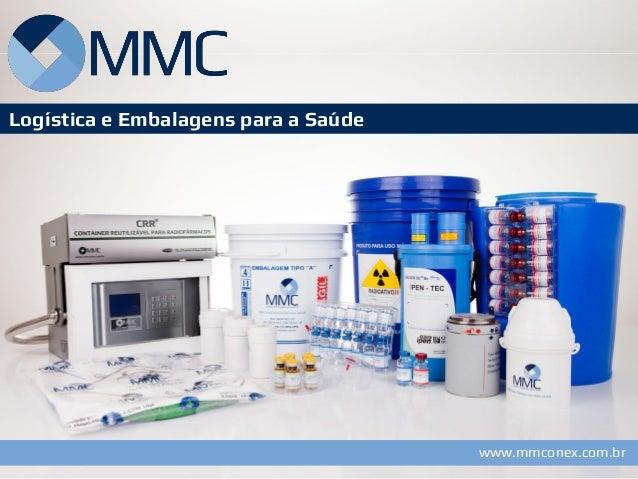 www.mmconex.com.br  Logística e Embalagens para a Saúde  www.mmconex.br