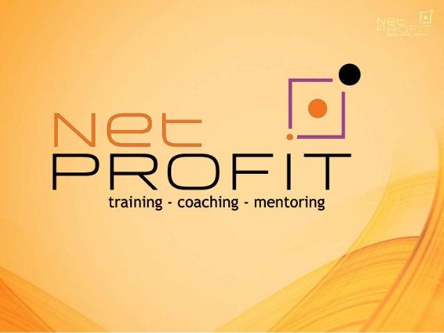 Há mais de 10 anos treinando e desenvolvendo pessoas, a Net Profit tornou- se referência de empresa especializada no desen...