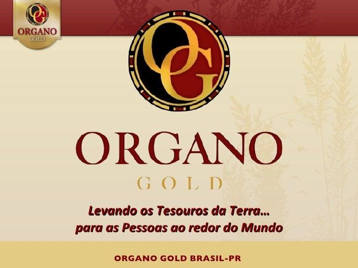Levando os Tesouros da Terra…para as Pessoas ao redor do Mundo      ORGANO GOLD BRASIL-PR