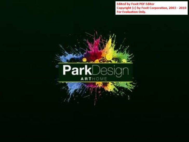 Apresentação Park Design