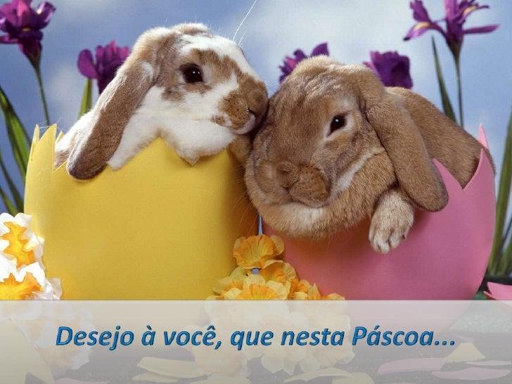 Desejamos à você, nesta Páscoa...<br />