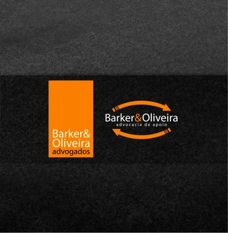 Barker & Oliveira Advogados - Advocacia de Apoio