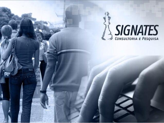 Goiânia- GO Agosto de 2015 Percepção da Corrupção Acompanhe nas redes sociais: https://www.facebook.com/luiz.signates No T...