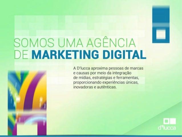 Apresentação de Marketing Digital da D'lucca | Jota