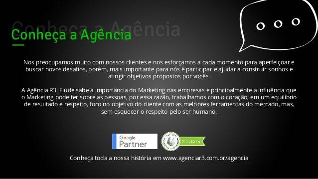 Apresentação Agência R3|Fiude Marketing Digital Slide 2
