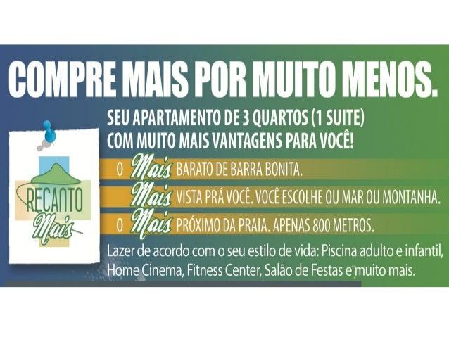 Barra BonitaO Desafio de lançar 02 empreendimentos em Barra Bonita, e proporcionar ao investidor e/ou                   mo...