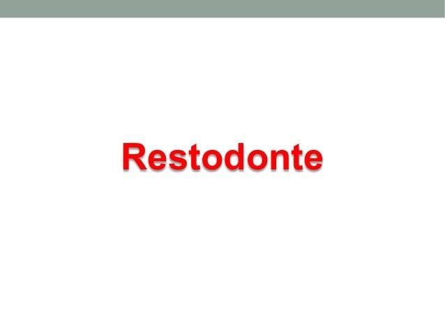 Restodonte
