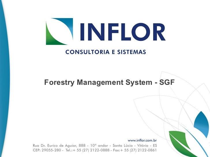 Forestry Management System - SGF