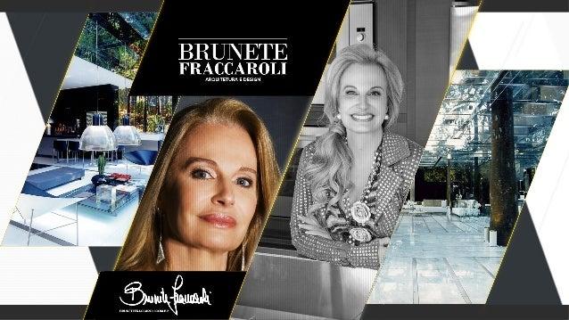 """A arquiteta Brunete Fraccaroli, mundialmente conhecida                como """"a arquiteta colorida"""", é requisitada para proj..."""