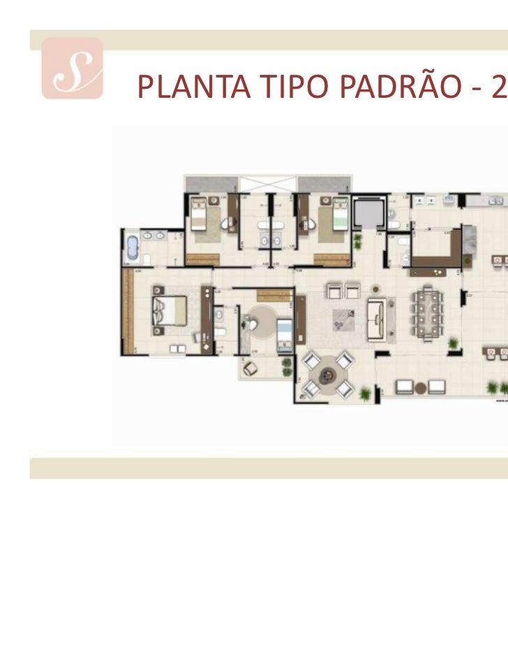 PLANTA TIPO OPÇÃO 1 - 235 m²Material provisório de consulta interna do corretor. Sujeito a alteração.