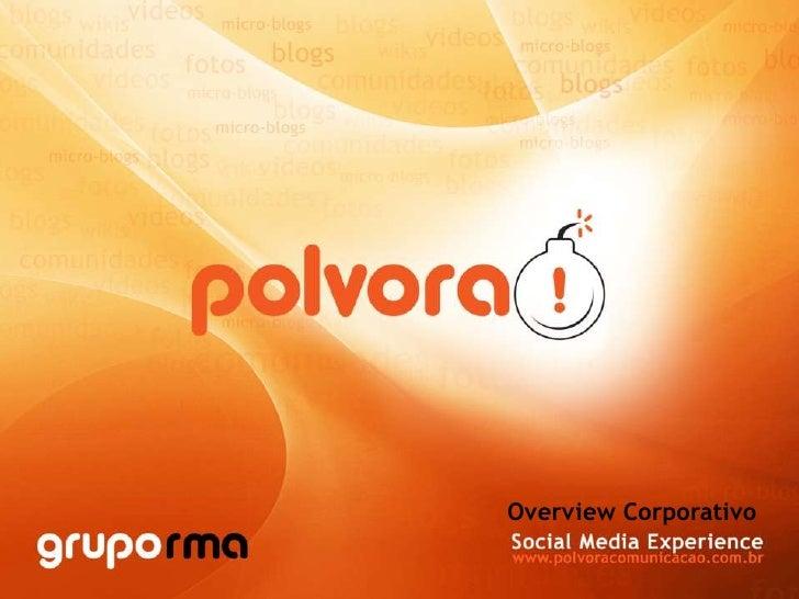 Overview Corporativo<br />