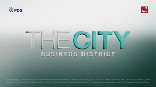 The City Business District, o primeiro business district do Rio
