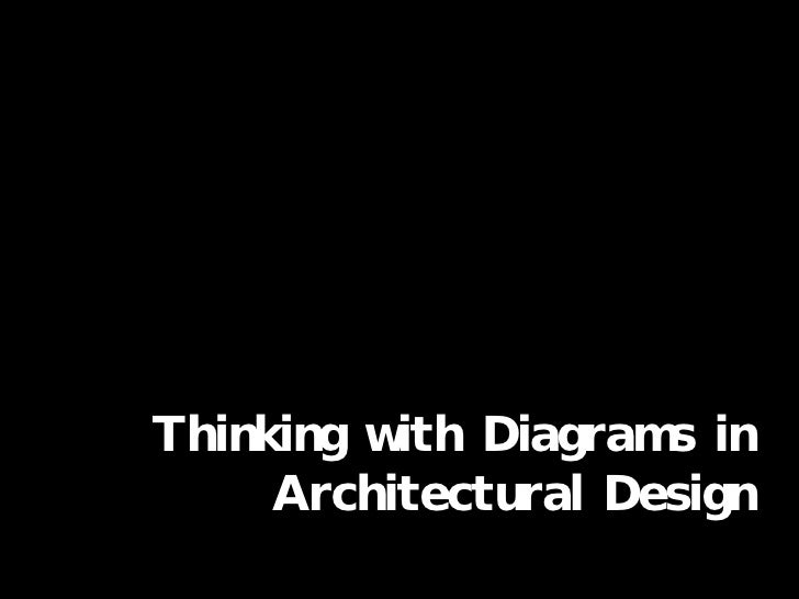 Thinking with Diagrams in Architectural Design