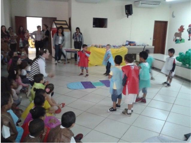 Apresentação de Folclore tumas de Educação Infantil Vespertino
