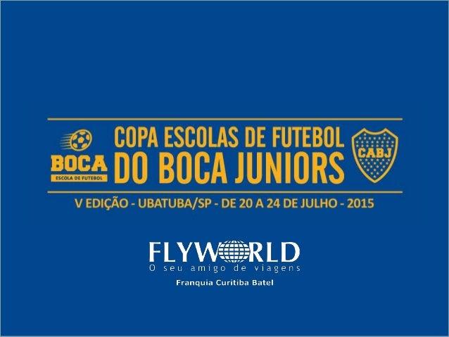 - A Copa Escolas de Futebol do Boca Juniors é um Torneio Anual. - De Participação Exclusiva das unidades das Escolas de Fu...