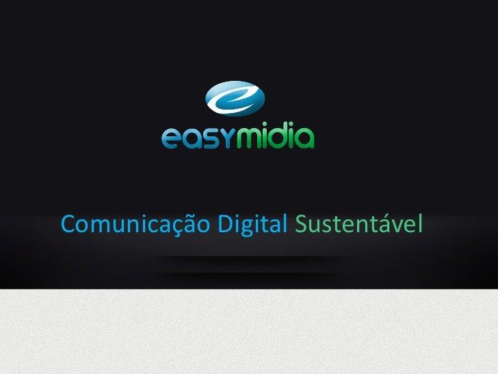 Comunicação Digital Sustentável