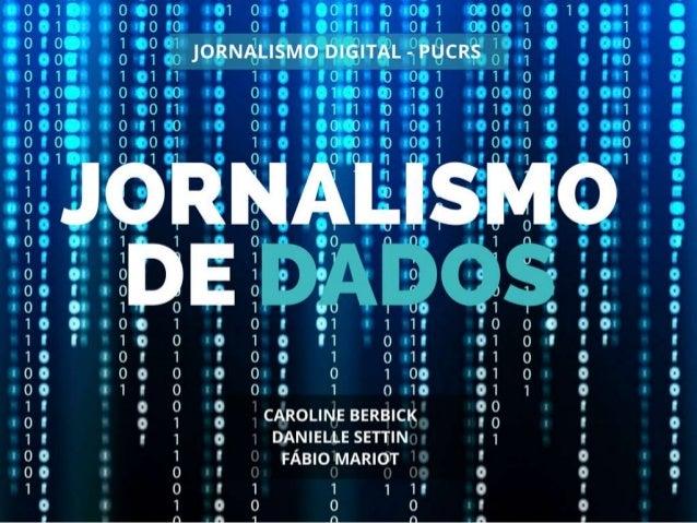 Jornalismo com Base de Dados