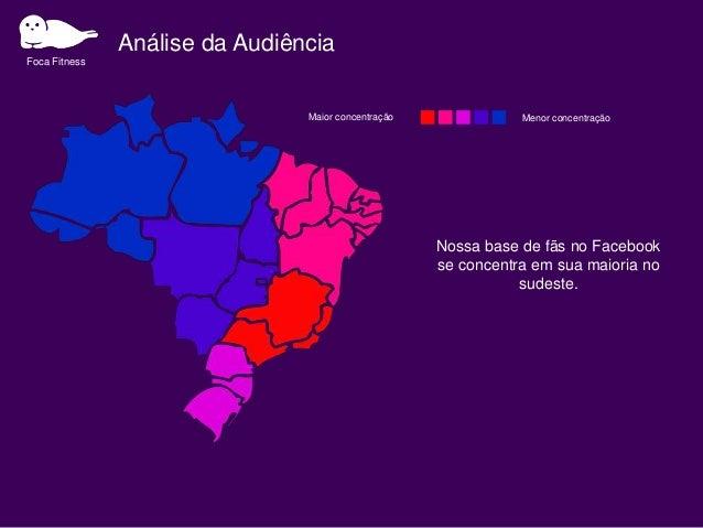 Análise da Audiência Foca Fitness Presença na academia x Check ins na Academia 10,000 11,000 9,000 6,000 3,000 2,500 2,200...