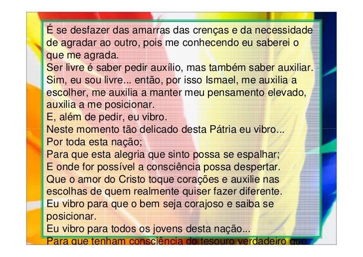 Sabedoria é Saber Que Eu Não Sou Nada O Amor é Saber Que: Aula M2 (16/02/2012)