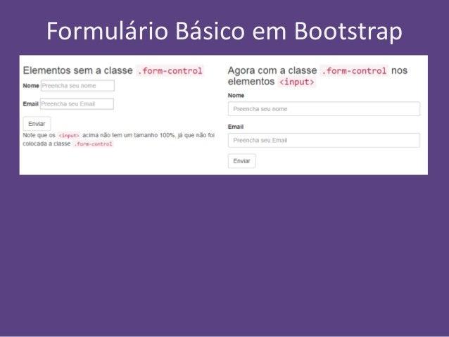 Formul rios responsivos com bootstrap - Bootstrap slider div ...