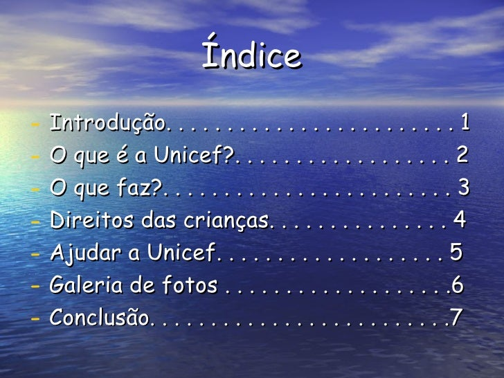 Unicef Slide 2