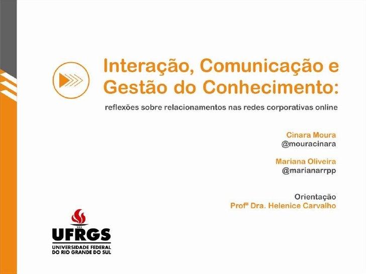 Apresentação Intercom 2010