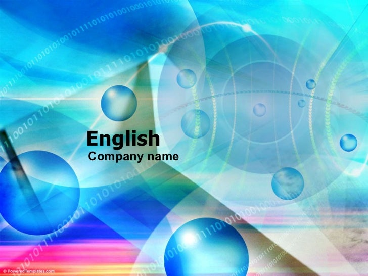 EnglishCompany name
