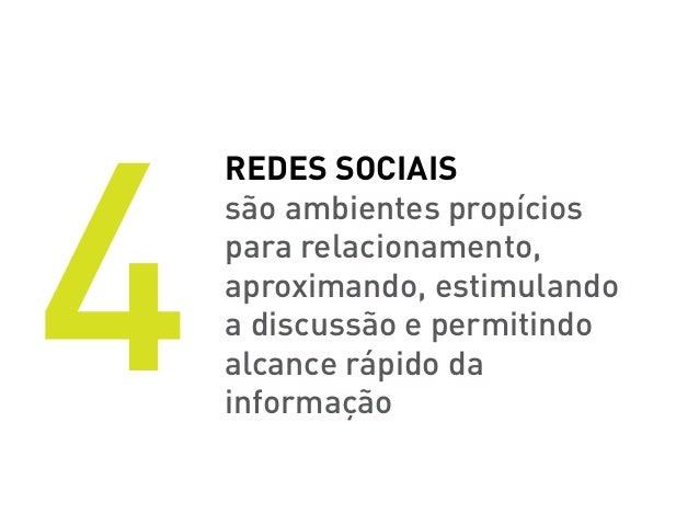 6    Estar presente    nas redes sociais é    hoje um diferencial    mercadológico,    mas logo será um fator    de sobrev...