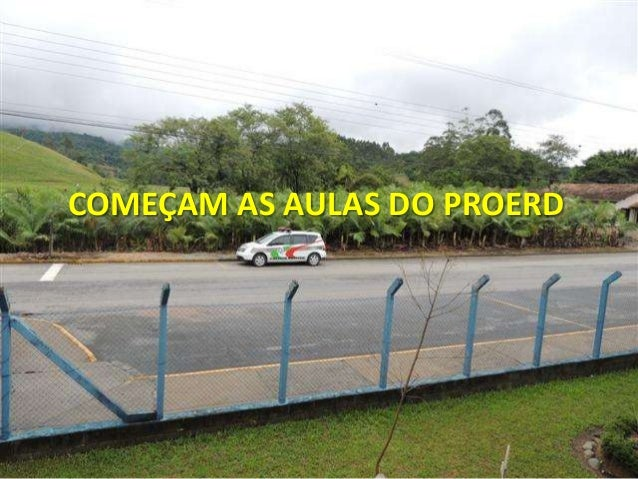 COMEÇAM AS AULAS DO PROERD