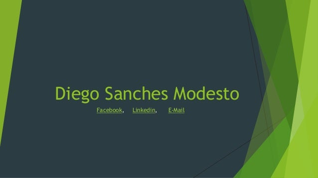 Diego Sanches Modesto Facebook, Linkedin, E-Mail