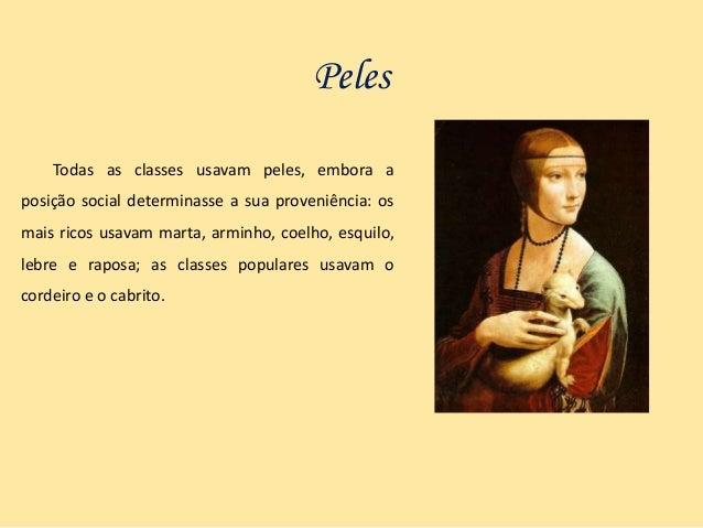 O vestuário na Idade Média