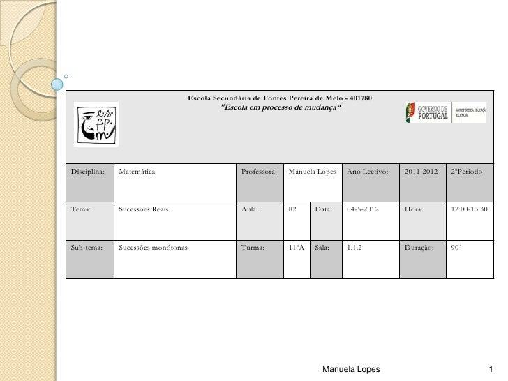 """Escola Secundária de Fontes Pereira de Melo - 401780                                             """"Escola em processo de mu..."""