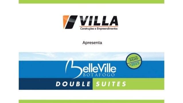 Belleville Botafogo Villar Construções | Apartamentos à venda em Botafogo