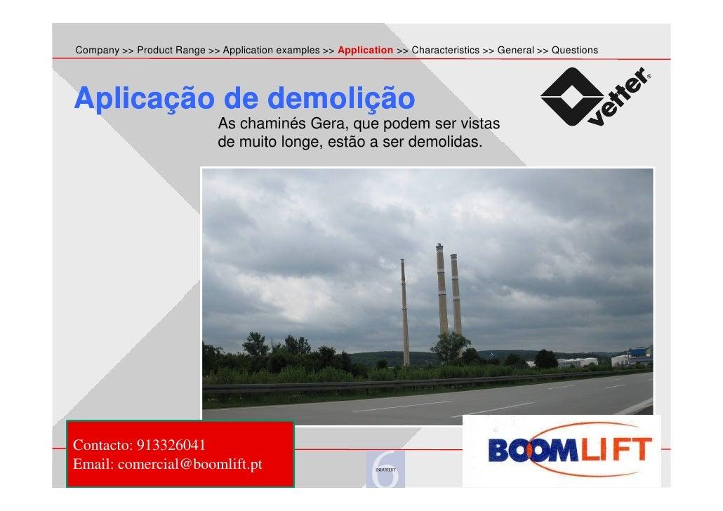 lifting bags - boom lift - Aplications Slide 3