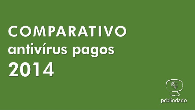 COMPARATIVO antivírus pagos  2014