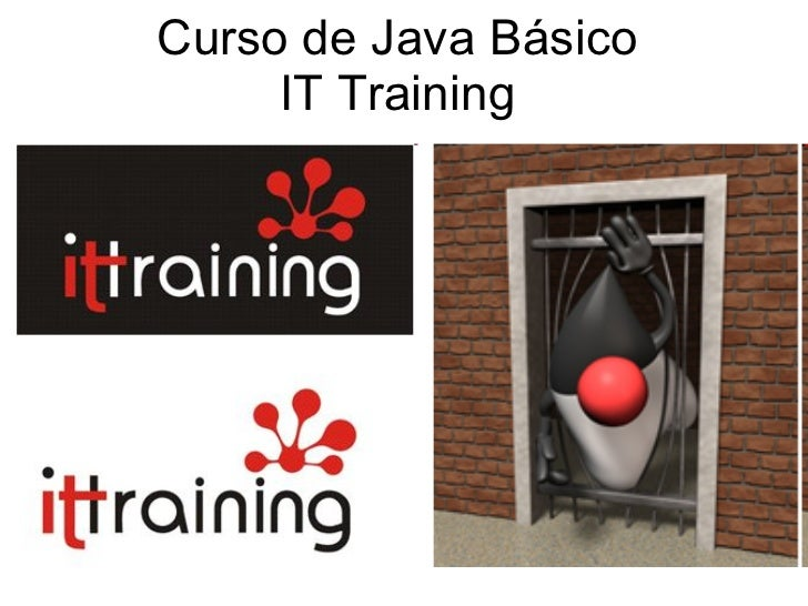 Curso de Java Básico IT Training