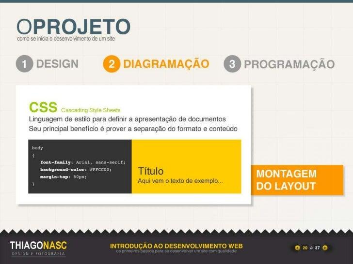Introdução ao Desenvolvimento WEB