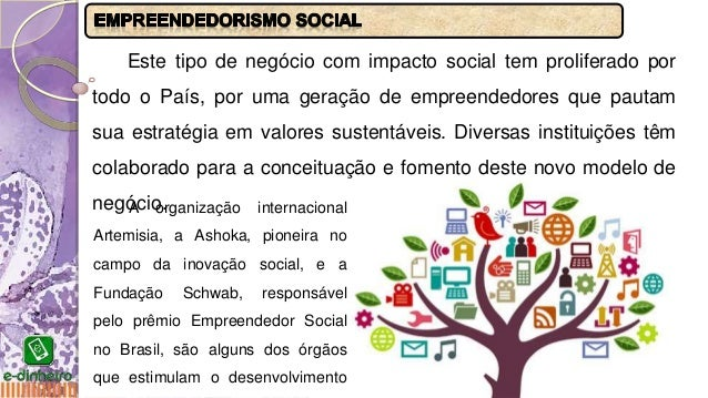 APRESENTAÇÃO - EMPREENDEDORISMO SOCIAL