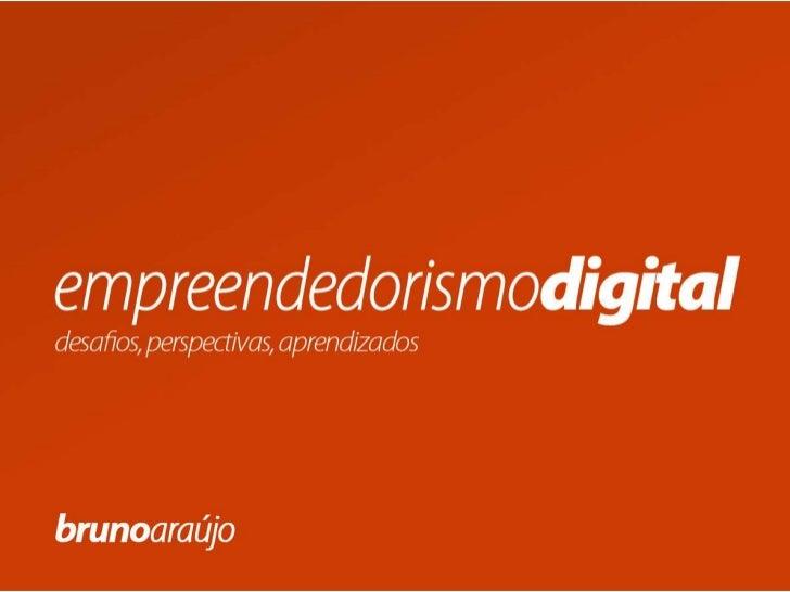 Apresentação   empreendedorismo digital