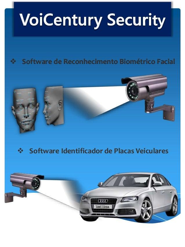  Software de Reconhecimento Biométrico Facial  Software Identificador de Placas Veiculares