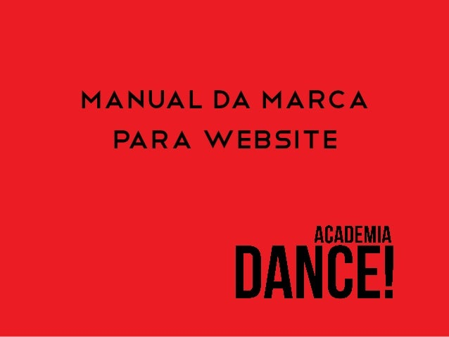 Manual da marca PARA WEBSITE